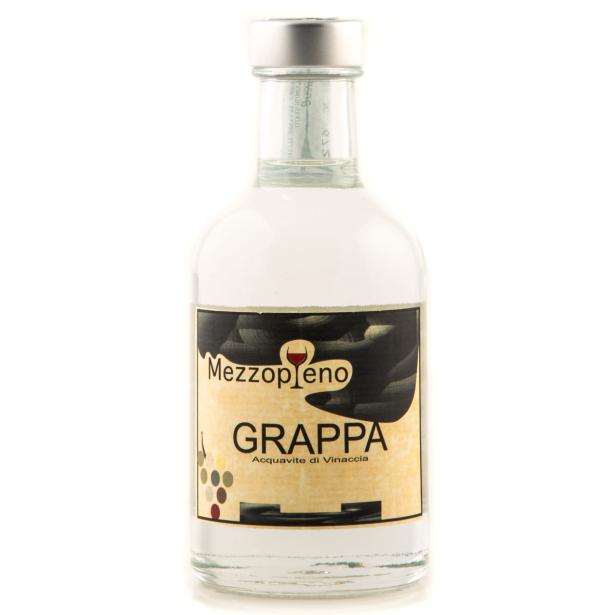 Grappa Bianca -Acquavite di Vinaccia 0.50 cl. 40° disponibile anche nel formato 0.20 cl.